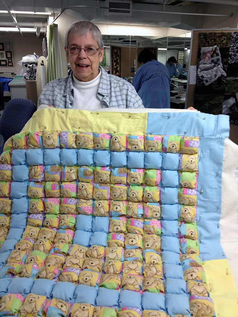 Louise and biscuit quilt