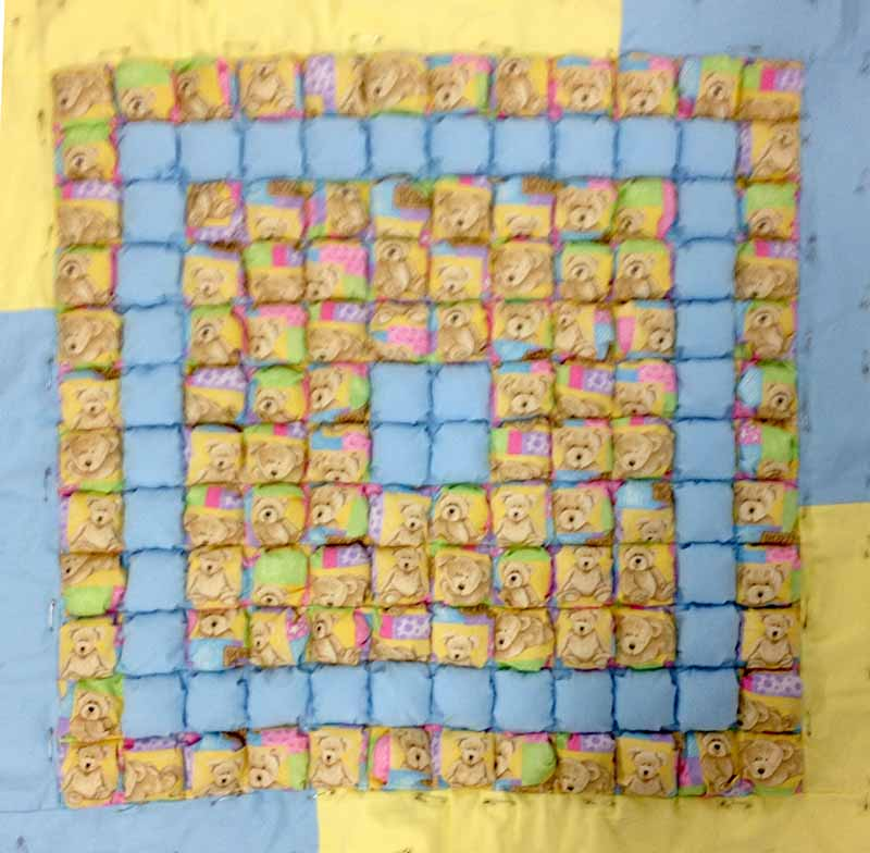 Louise biscuit quilt entire
