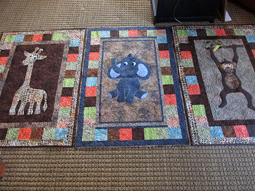 Eileens animal quilts